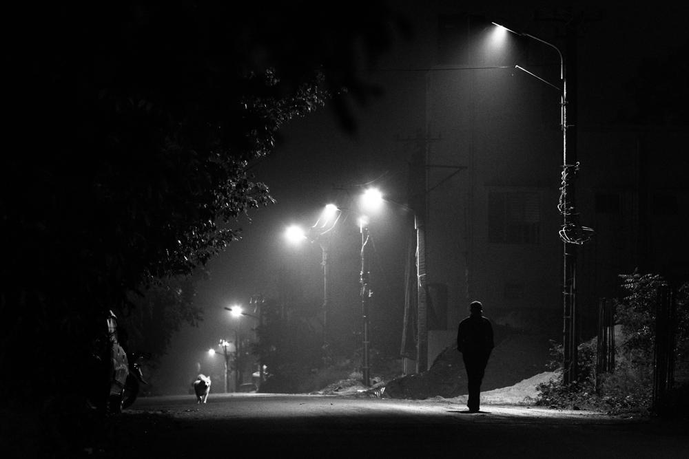 wandering alone at night - 1000×667