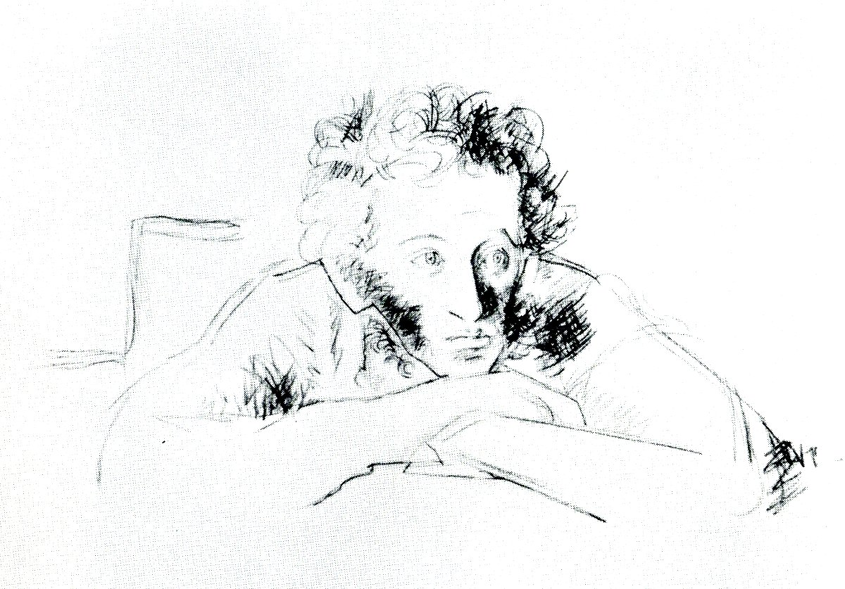 Картинки портрет пушкина с пером бомжи, туалет