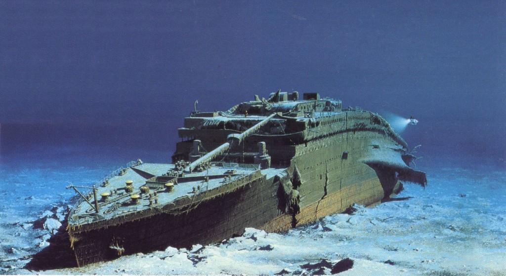 часть корпуса «Титаника»,