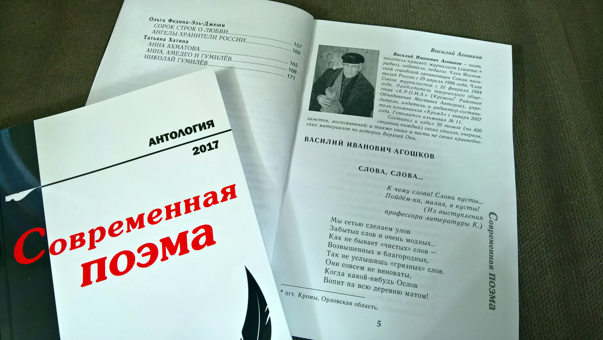 Современная поэма. Антология. 2017 г.